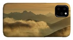 Orange morning IPhone Case for Sale by Ren Kuljovska.  Protect your iPhone 11 with an impact-resistant, slim-profile, hard-shell case.  The image is printed directly onto the case and wrapped around the edges for a beautiful presentation.  Simply snap the case onto your iPhone 11 for instant protection and direct access to all of the phone's features! #linesofmountains #slovakia #sunrise #artprint Iphone 11, Iphone Cases, Very Nice Images, Camera Art, Photography Awards, Cool Artwork, How To Be Outgoing, Color Show, Airplane View