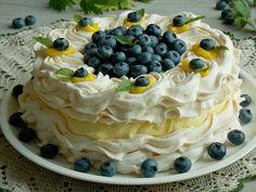 Dessert Dishes, My Dessert, Cookie Desserts, Fresh Fruit Desserts, Desserts For A Crowd, Jam Recipes, Sweet Recipes, Cooking Recipes, Pavlova Cake