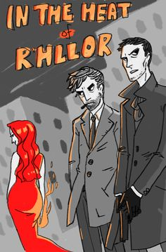 Team Dragonstone as a pulp fiction novel !!! by http://cjludd.tumblr.com/ #stannis #davos #melisandre