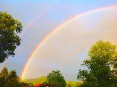 Regenbogen nach Gewitter