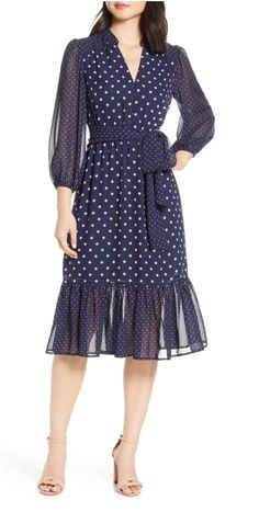 online shopping for Eliza J Long Sleeve Chiffon Midi Dress from top store. See new offer for Eliza J Long Sleeve Chiffon Midi Dress Lace Sheath Dress, Ruched Dress, Modest Dresses, Blue Dresses, Summer Dresses, Wedding Outfits For Women, Midi Dresses Online, Dress Online, Chiffon Gown