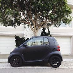 Matteblack Smartcar