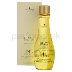 Schwarzkopf Professional BC Bonacure Oil Miracle, vlasová kúra pre jemné vlasy bez objemu | parfums.sk