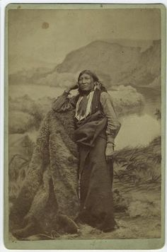 White Eagle - Comanche - His real name was much less...appropriate.