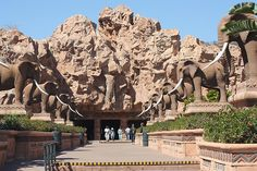 Sun City, South Africa - Really cool place.  Been there many times, saw Rod Stewart there back in the day.