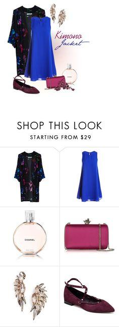"""How to Wear: Kimono Jacket"" by nansy393 on Polyvore featuring мода, Umran Aysan, Sans Souci, Chanel, Roberto Cavalli, BaubleBar и Rebecca Minkoff"