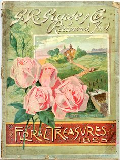 G.R. Gause and Co., Floral Treasures, 1895; Seed Catalogs from Smithsonian Institution Libraries