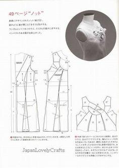 PATRÓN DE MAGIA VOL.2 TOMOKO LIBRO DE COSER NAKAMICHI JAPONESA PARA DRAPE 11
