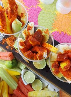 Mexican Fresh Fruit Cups