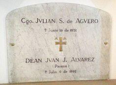 Sepulcro de Julián Segundo Agüero CABA