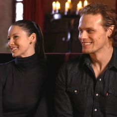 EXCLUSIVE: Sam Heughan and Caitriona Balfe Answer 'Outlander' Fan Questions About Season 3's Best Moments and More!