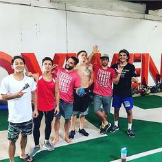 S&C is key to professional athletes as well as to hobbyists. @mikenaka125 in the ATH OG getting in his strength work with the boys from Team Alpha Male. Check out our blog post about Training for Longevity on our blog at athorganics.com //  @chadmendes // #athohana