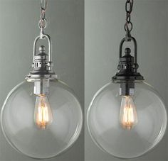 i think i could convert our ugly brass pendant in the master bath into this...thanks, younghouselove!