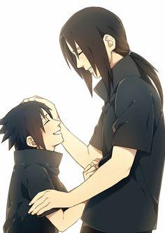 Sasuke and Itachi - Naruto Itachi Uchiha, Gaara, Shikamaru, Boruto, Naruto Shippuden, Sasunaru, Anime Naruto, Manga Anime, Naruto Pics
