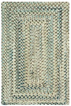 Soft underfoot, the cozy Deep Blue Ocracoke Braided Chenille Rug brings…