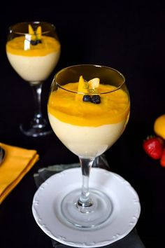 Lea's Cooking: Mango Mousse 3-4 (about 2 cups) ripe mangoes  1 cup heavy whipping cream 1/2 can sweetened condensed milk 1 tbsp lime juice STEP BY STEP PHOTOS