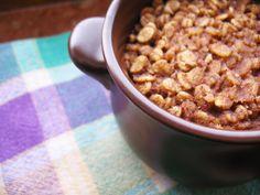 Kasztanowa kuchnia: Pieczona owsianka niczym ciasteczko