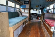 This 1988 Ford Econoline 350 Short Bus Conversion is a guest post by Lacey Leonard(Update: Asking Price Lowered) My name is Lacey Leonard and I am an undergraduate Sculpture Student. This was my t…