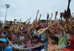 Record du Monde Tahiti Ukulele 2015