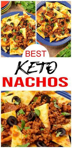Check out these Keto Nachos! Tortilla chips loaded nachos are so tasty. Easy keto recipe - healthy, sugar free, gluten f Low Carb Meal Plan, Ketogenic Diet Meal Plan, Ketogenic Diet For Beginners, Ketogenic Recipes, Diet Recipes, Diet Menu, Chili Recipes, Keto Diet Meals, Keto Meals Easy