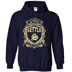 PROUD TO BE SETTLE T Shirts, Hoodies, Sweatshirts. GET ONE ==> https://www.sunfrog.com/Names/PROUD-TO-BE-SETTLE-6364-NavyBlue-36024445-Hoodie.html?41382