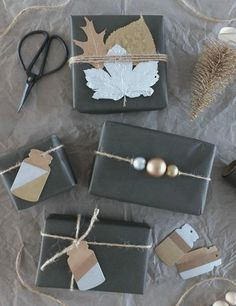 Beautiful way to decor gift packaging