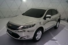 For #ModifiedMonday we bring you a Toyota Harrier turned into a virtual world art car - the mirror car www.cardeck.co.uk