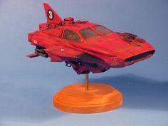 scifi hover-car racer by matteline67 on DeviantArt