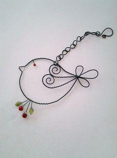 Wire bird!!!