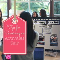 Surviving an Activities Fair