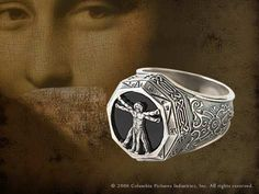 Vitruvian Man Ring Product Detail