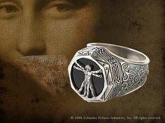 Vitruvian Man Ring Product Detail