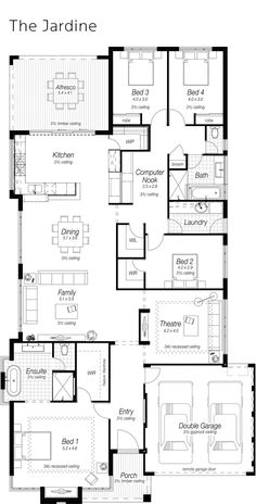 Windsor floor plan download a pdf here paal kit homes for Ross north home designs