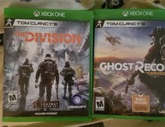 Tom Clancy's Ghost Recon: Wildlands and The Division (Xbox One)