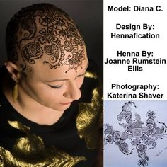 Beautiful Henna Crowns Empower People That Lost Their Hair From Chemotherapy.