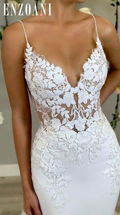 Top Wedding Dresses, Cute Wedding Dress, Wedding Dress Trends, Wedding Attire, Bridal Dresses, Wedding Gowns, Prom Dresses, Wedding Ideas, Kleidung Design