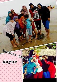 Foto kiriman Cindra Mayang  Kebersamaan keluarga besarku selalu kami lalui bersama...indahnya kebersamaan, tawa dan canda riang gembira selalu berbaur.. Berlibur ke Villa Sambolo Beach Anyer. #FotoKeluargaEMCO