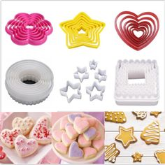 Xmas Fondant Cake Sugarcraft Flower Decorating Biscuit Cookies Mold Cutter