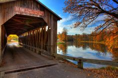 Fallasburg Bridge, Fallasburg Park, north of Ada, Michigan is one of my favorite places ever.  How cool to see someone's photo of the historic bridge being chosen by BetterPhoto.com as Photo of the Day!