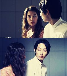 Kim Ji Won and Lee Soo Hyuk (What's Up). Midsection
