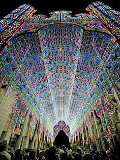 2012 Light Festival, Ghent, Belgium. | See More Pictures | #SeeMorePictures
