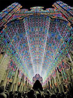2012 Light Festival, Ghent, Belgium.