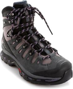 Salomon Quest 4D 2 GTX - Women's - 2015 Closeout   Trek in comfort with these women's hiking boots. They're nimble, supportive and light like running shoes, but sturdy enough for long hauls under heavy loads.  [Winter weather and snow ready, plus backpacking in spring! www.districtlight.co]