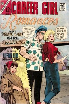 Career Girl Romances #39 - Charlton Comics - second appearance (first in issue #38) & first time on the cover for Tiffany Sinn, private detective & the C.I.A. Sweetheart - great Dick Giordano cover!