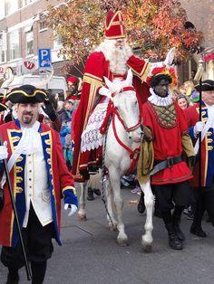 Sinterklaas, Den Haag - Dutch celebrations on December 5th