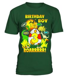 "# Dinosaur Birthday Shirt Age 3 Party Theme Outfit Boys .  Special Offer, not available in shops      Comes in a variety of styles and colours      Buy yours now before it is too late!      Secured payment via Visa / Mastercard / Amex / PayPal      How to place an order            Choose the model from the drop-down menu      Click on ""Buy it now""      Choose the size and the quantity      Add your delivery address and bank details      And that's it!      Tags: SIZES RUN SMALL SO SIZE UP…"