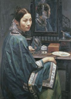 Chen Yifei ( April 12, 1946 - April 10, 2005) was a famous Chinese classic painter, director and vision artist.