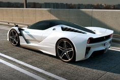 Ferrari F70 V12 Hybrid Sports Car Concept