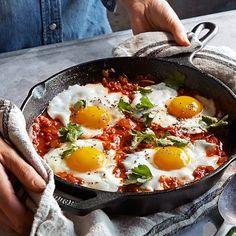 Lodge Cast-Iron Round Fry Pan #williamssonoma