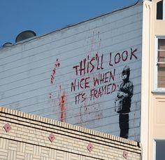 106 Awesome Banksy Graffiti DrawingsEndAllDisease.com